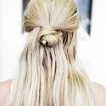 Acconciatura fai da te con capelli lunghi