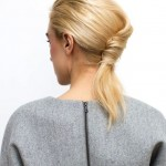 Acconciatura french twist