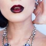 Make up labbra stile Burlesque