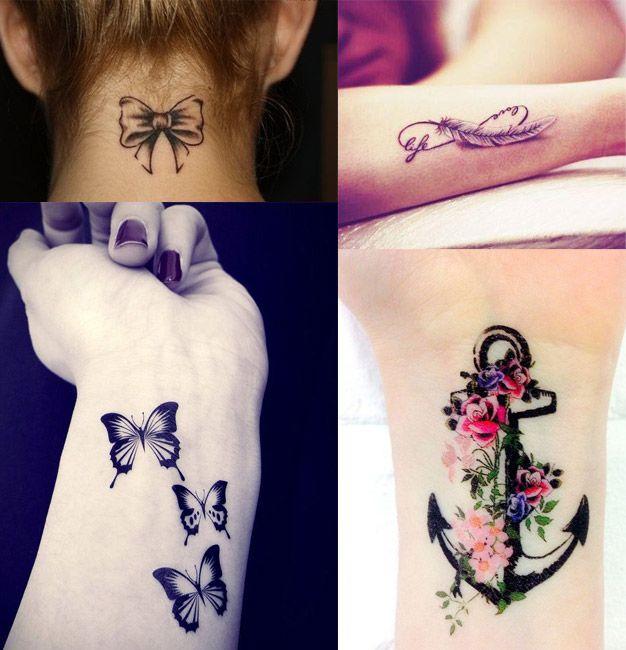 Piccoli Tatuaggi Femminili: 30 IDEE con SIGNIFICATO