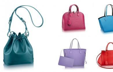 Borse Colorate Louis Vuitton primavera estate 2015