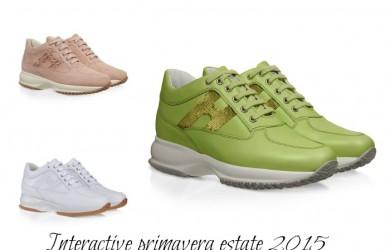 Collezione scarpe Hogan Interactive primavera estate 2015