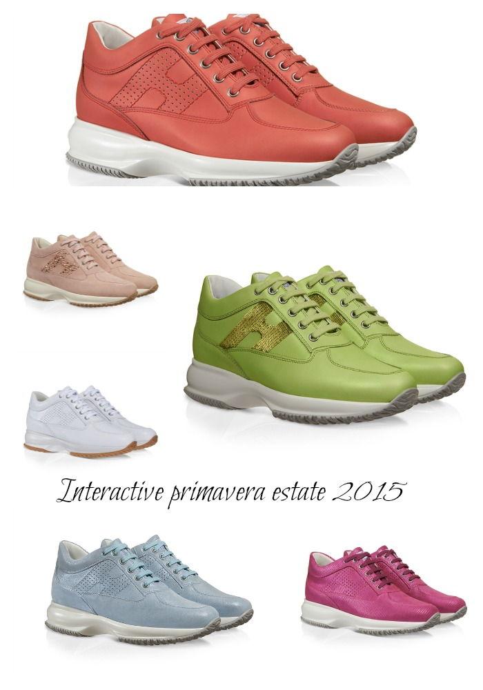 b21a6e2650935 Scarpe Interactive Hogan modelli e prezzi primavera estate 2015 ...