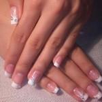 Manicure da sposa Foto Nail Art per il matrimonio