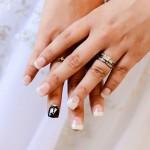 Originale e giovanile Manicure da sposa