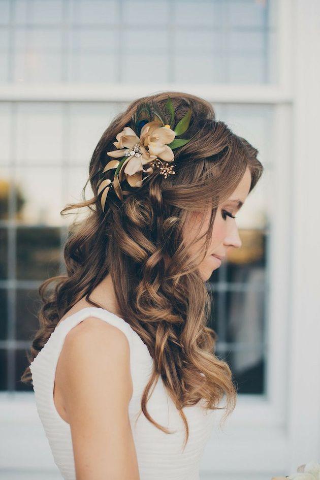 Famoso Acconciature Sposa capelli lunghi, medi e corti: Foto - Lei Trendy CX09