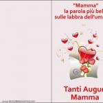 Biglietti Auguri Festa della mamma