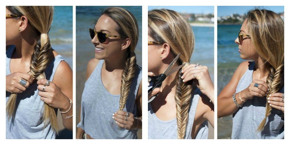 Amato Come fare la treccia a lisca di pesce: Tutorial - Lei Trendy KB82
