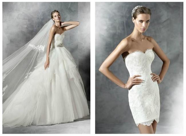 Pronovias abiti da sposa collezione 2016 lei trendy for Sposa che corre