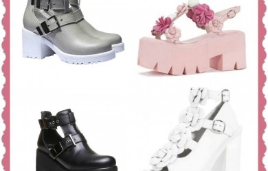 Cut Out Boots e Sandali Moda 2015