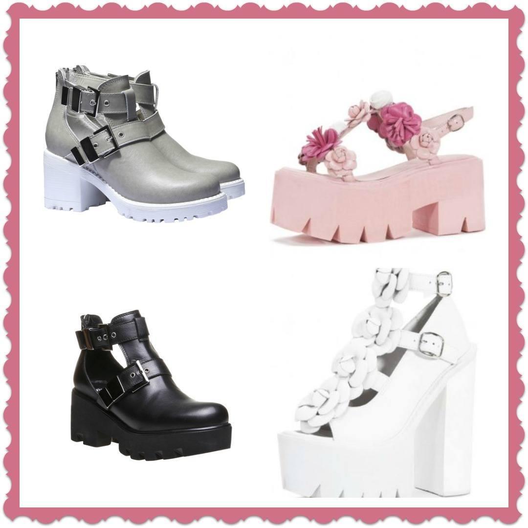 Cut Boots Lei Sandali e con Scarpe Moda 2015 carrarmato Out suola xwqHZ64pC