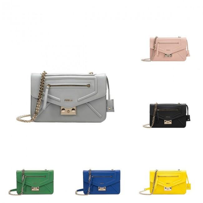 Minibag a tracolla Furla modello Alice primavera estate 2015