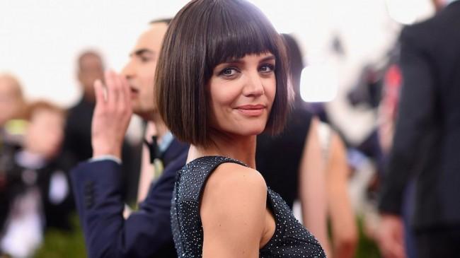 Nuovo taglio capelli Katie Holmes 2015