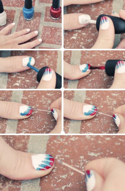 Tutorial Nail Art acquerello