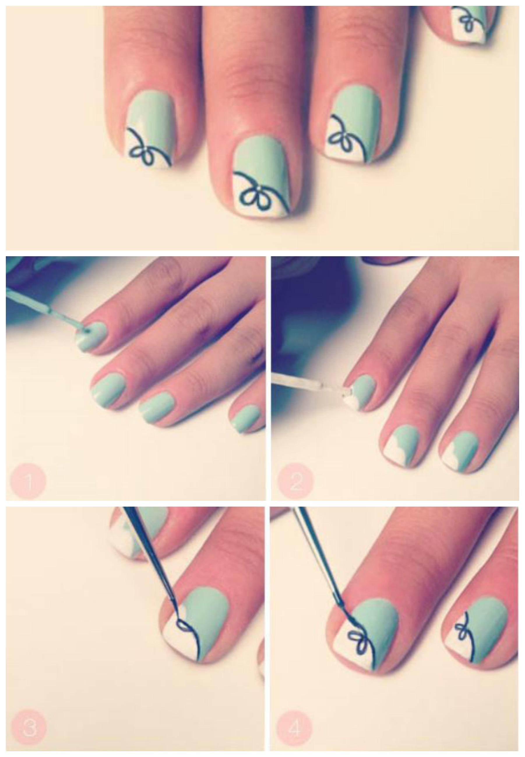 5 tutorial nail art con unghie corte lei trendy