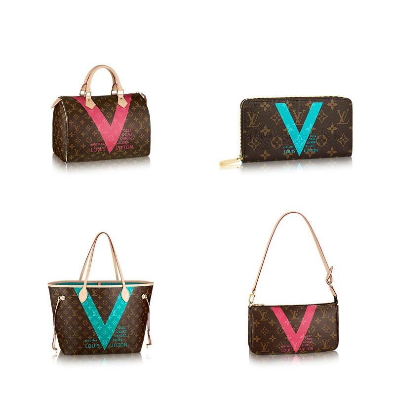 louis vuitton borse estate 2015 collezione monogram v