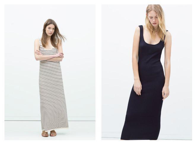 Abiti estivi lunghi Zara 2015 prezzo 25,95 euro