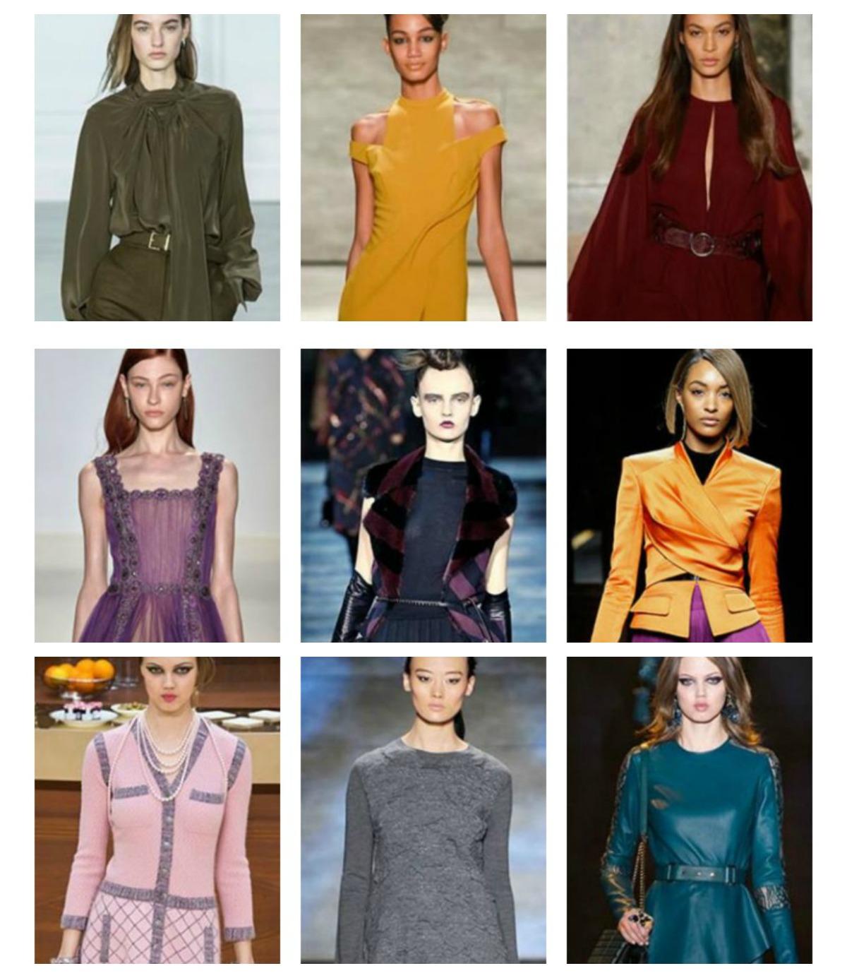 colori moda autunno inverno 2015 2016 lei trendy