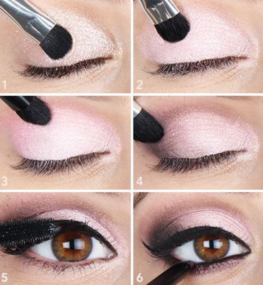 Idea di make up occhi marroni