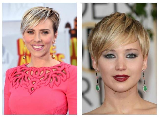 Tagli capelli corti alla Scarlett Johansson e Jennifer Lawrence
