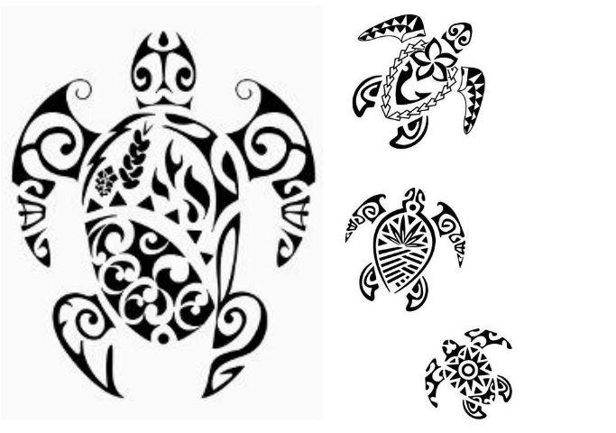 Tartarughe Maori Tatuaggi che rappresentano la Famiglia