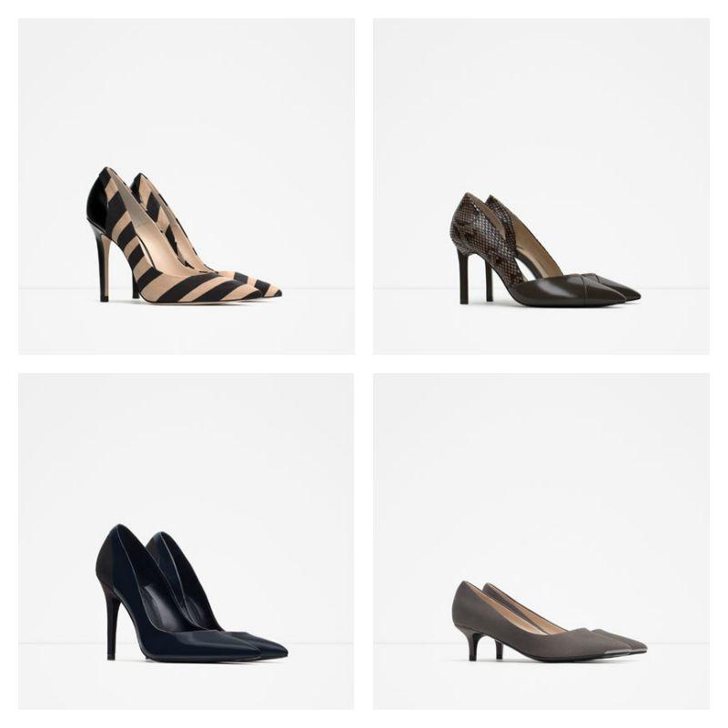 Scarpe e Stivali Zara inverno 2015 2016: Catalogo Prezzi