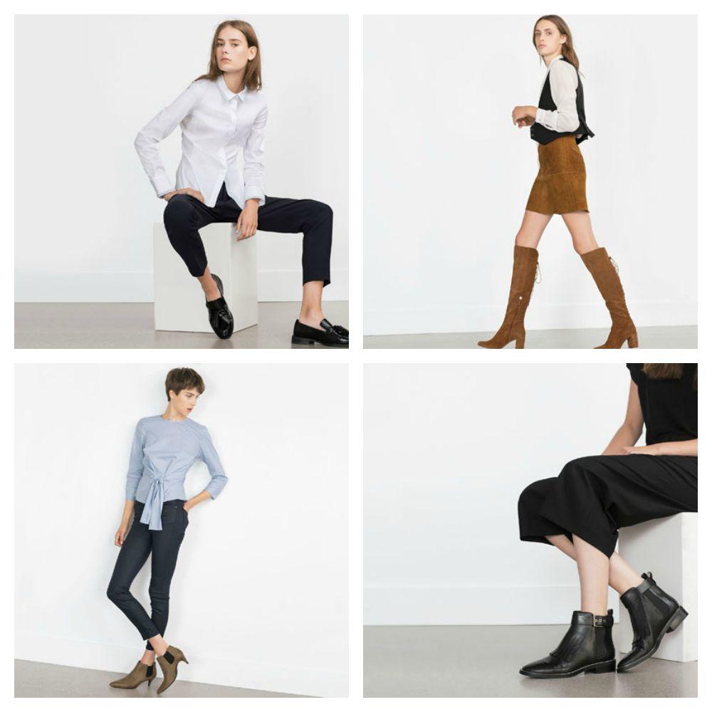 Scarpe E Stivali Zara Inverno 2015 2016: Catalogo Prezzi Lei Trendy