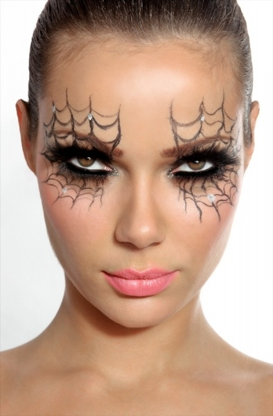 Facile trucco viso Halloween