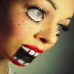 Idea Make up Halloween da Ventriloquo