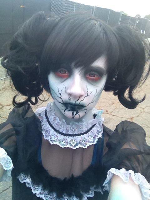 Idea Trucco Halloween Bambola