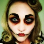 Idea Trucco Halloween da Bambola assassina