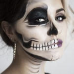 Make up Halloween viso donna
