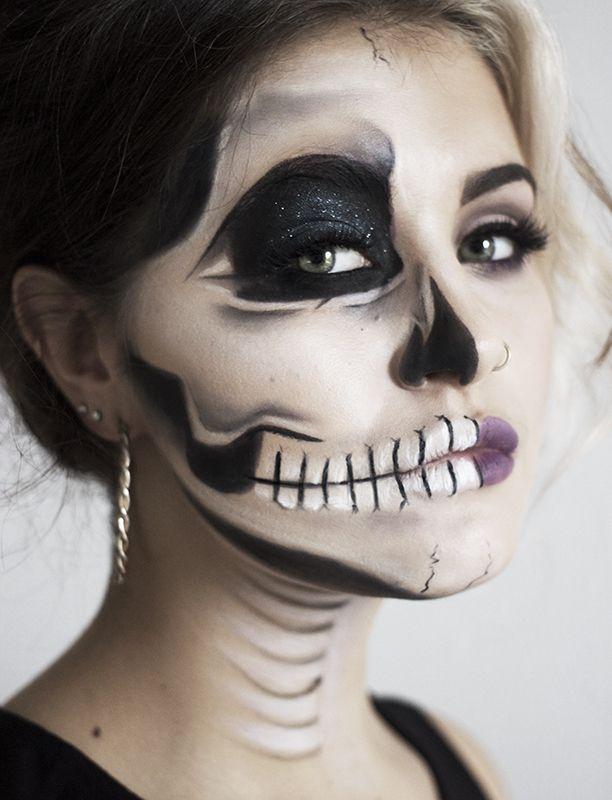 Make up Halloween viso donna