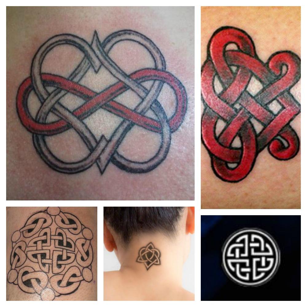 Favorito Tatuaggi con Significato Amore: Il nodo Celtico dell'Amante - Lei  BI27