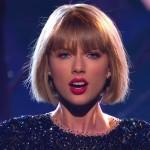 Nuovo Taglio capelli Taylor Swift caschetto con frangia