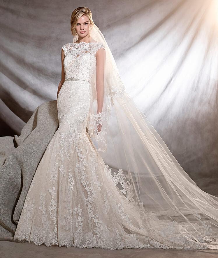 official photos 412f2 b71c9 Abiti da sposa 2017 Pronovias