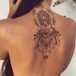 Immagine Tatuaggio Mandala sulla schiena