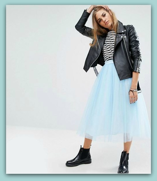 buy online a68c6 586ad Gonna in TULLE moda Inverno 2016 2017