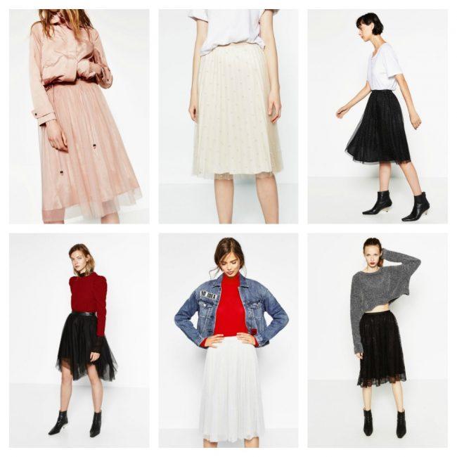 buy online e3416 7760d Gonna in TULLE moda Inverno 2016 2017