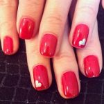 Facile Nail Art romantica San Valentino