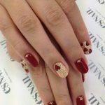 Idea Nail Art romantica per San Valentino