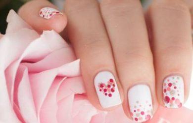 Idea bon ton Nail Art San Valentino
