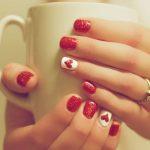 Immagini Nail Art Decorazione Unghie San Valentino