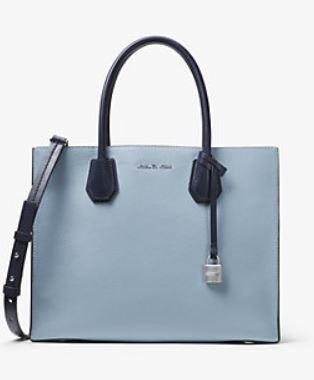Nella galleria di foto qui di seguito potete ammirare tutti gli altri  colori delle borse Mercer MK Michael Kors collezione primavera estate 2017  appena ... 62204cf4e5f