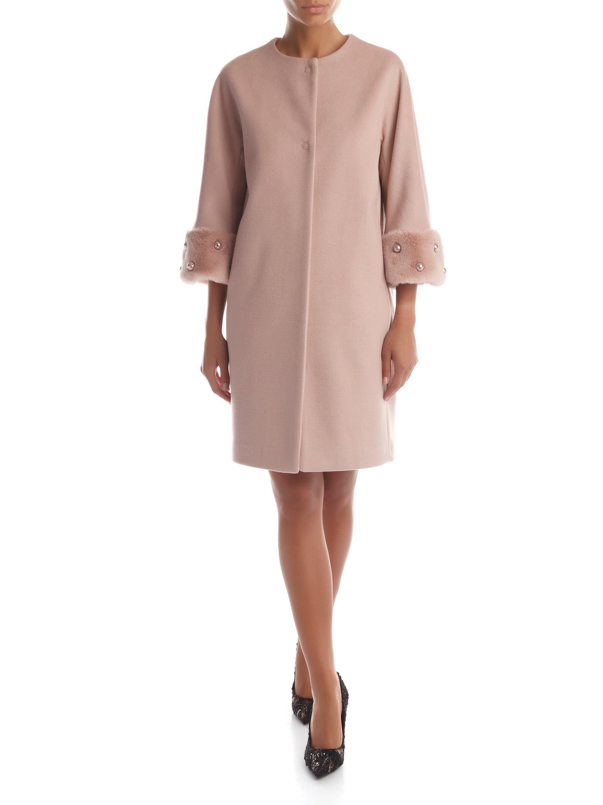 sale retailer 1a44a e89f7 Cappotto Zarina Rinascimento moda autunno inverno 2017 2018