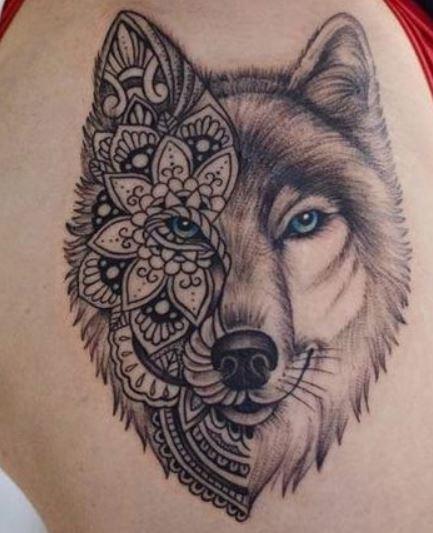 Tatuaggio lupo significato e foto lei trendy significato tatuaggio lupo per un uomo altavistaventures Gallery