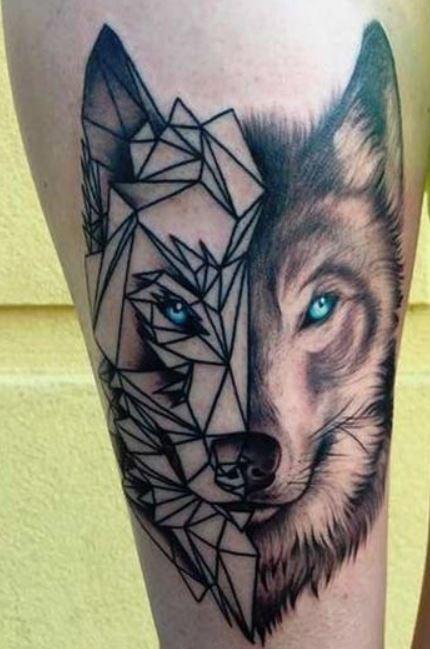 abbastanza Tatuaggio LUPO: Significato e Foto - Lei Trendy YR97