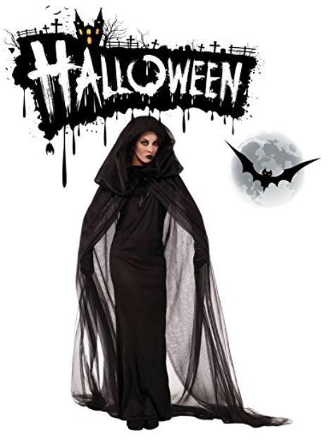 Vestiti Halloween.Costumi Halloween 2017 Ragazza