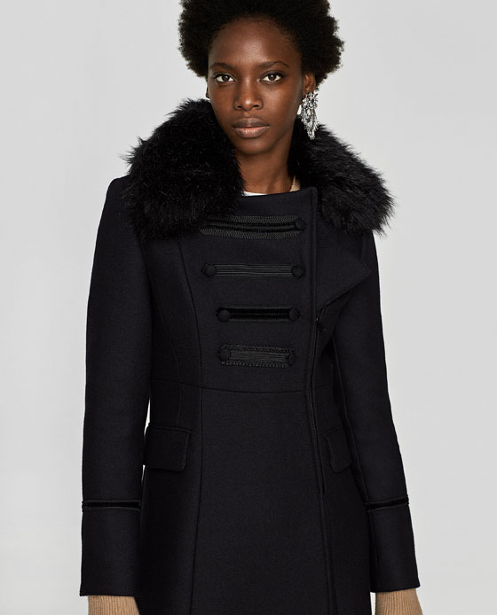 Zara Cappotti collezione inverno 2017 2018 Foto e Prezzi