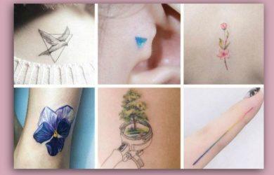 Immagini Piccoli tatuaggi femminili da cui prendere ispirazione